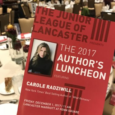 Author's Luncheon 2017